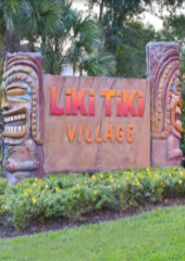 Liki Tiki Village entrance in Orlando, Florida